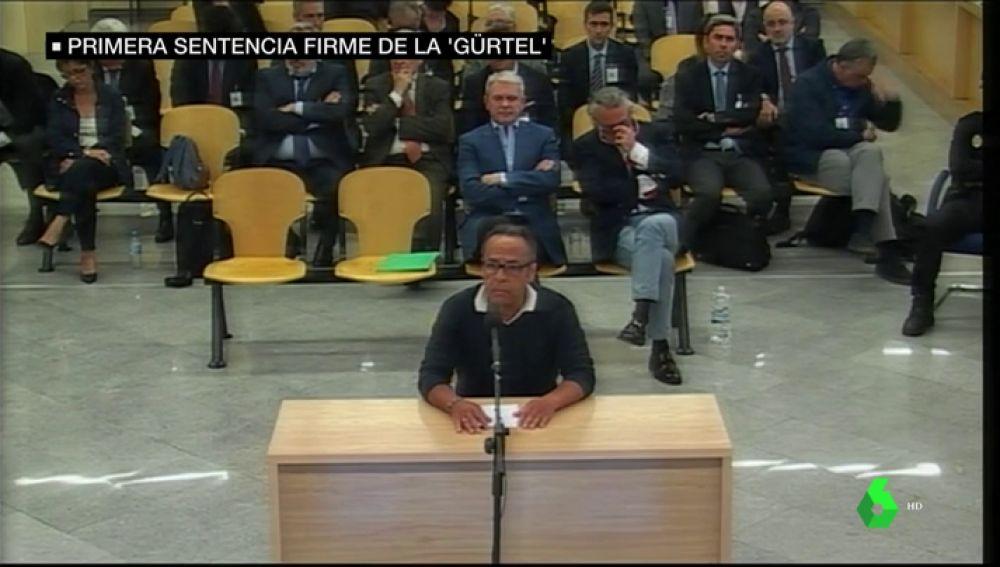 Álvaro Pérez 'El Bigotes' hablando de la primera sentencia de la Gürtel
