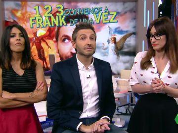 Frank Blanco, Ana Morgade y Lorena Castell, en Zapeando