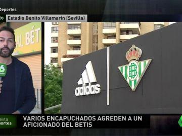 Varios encapuchados agreden a un aficionado del Betis cerca del Villamarín