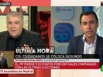 El coordinador general del PP, Fernando Martínez-Maíllo