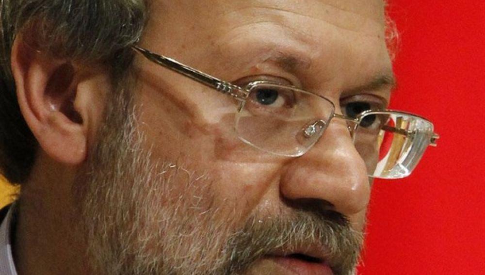 Alí Lariyani, presidente del Parlamento iraní
