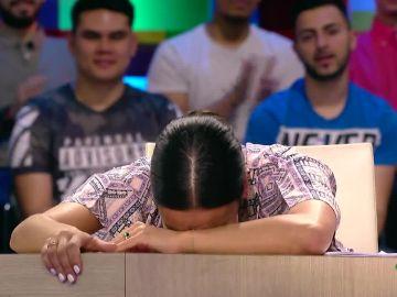 a dramática reacción de Cristina Pedroche al imaginarse que el Rayo Vallecano no sube a Primera División