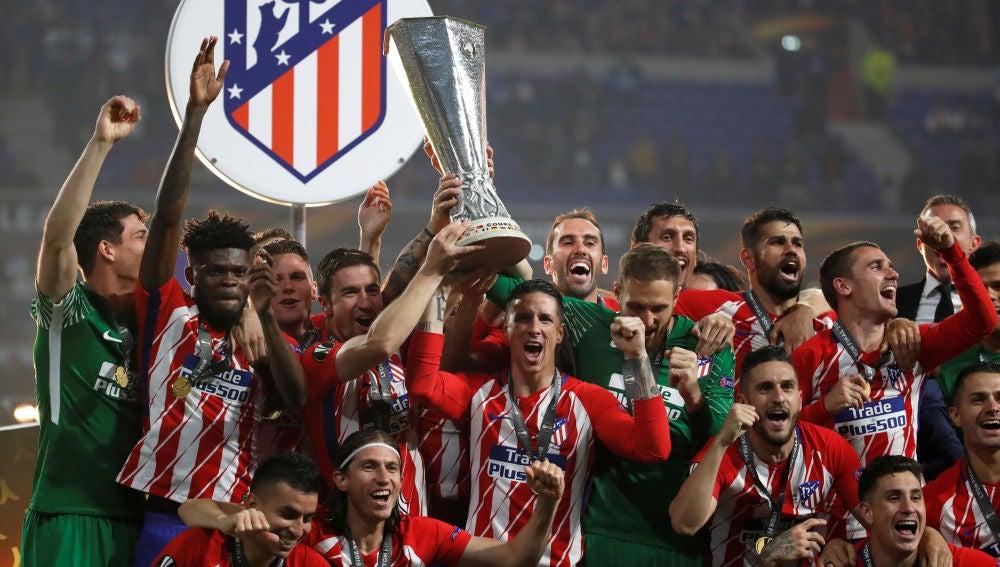 El Atlético de Madrid, campeón de la Europa League