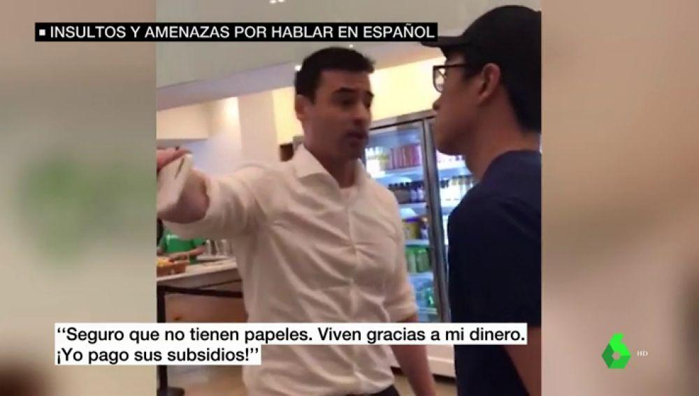 Un conocido abogado estadounidense increpa, insulta y amenaza a empleados de un restaurante por hablar español