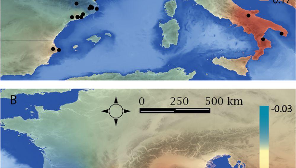 Ceramicas y adornos arrojan luz sobre la expansion mediteranea del Neolitico