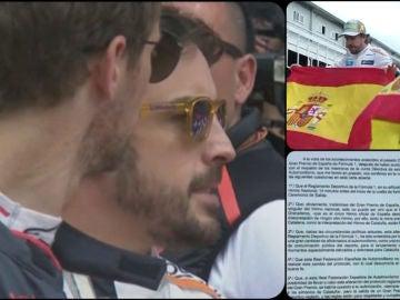 La reacción de Alonso al excesivo 'Els Segadors'