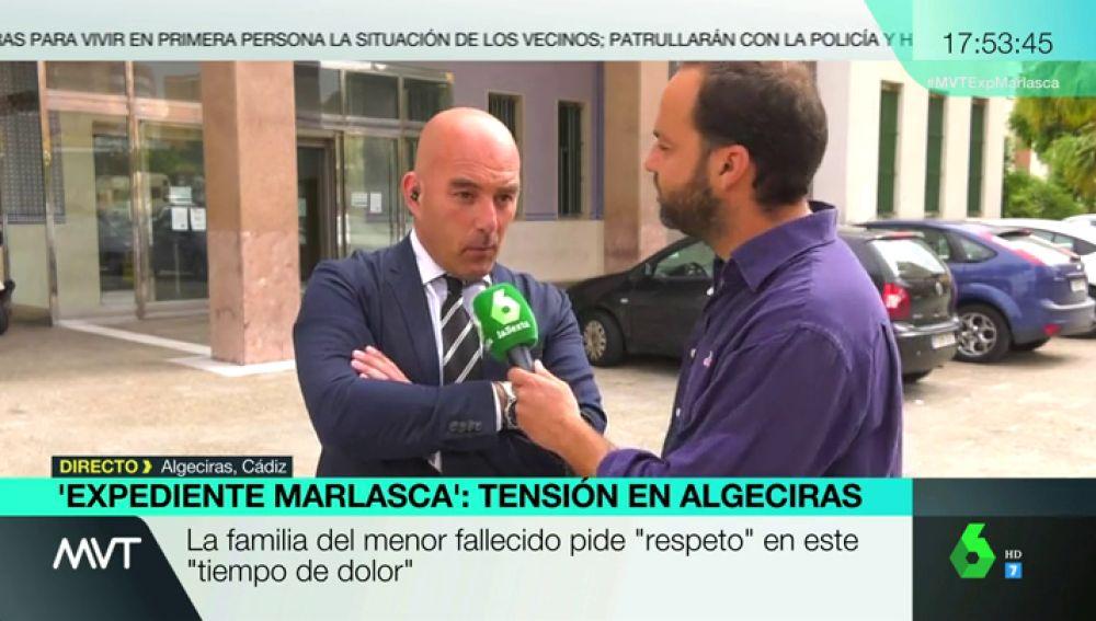 ALGECIRASAntonio Barba, abogado de la familia del menor fallecido en Algeciras