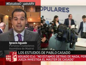 Ignacio Aguado, en Al Rojo Vivo