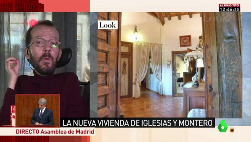 Pablo Echenique, en Al Rojo Vivo
