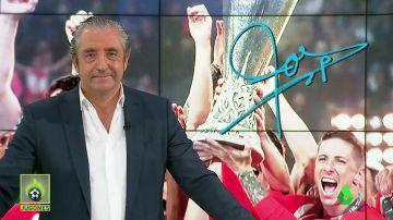 """""""Cuando la gente mire esta copa... Recordará a Torres, el jugador más querido de la historia del Atleti"""""""