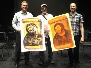 Los creadores de la ópera del Ecce Homo