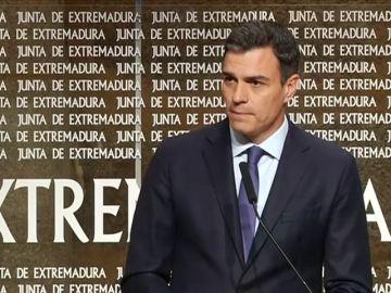 """Pedro Sánchez advierte de que Torra es el """"Le Pen español"""" al que hay que combatir desde la unidad"""