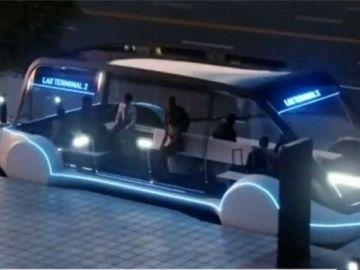 El prototipo del  'Loop', el nuevo transporte del futuro