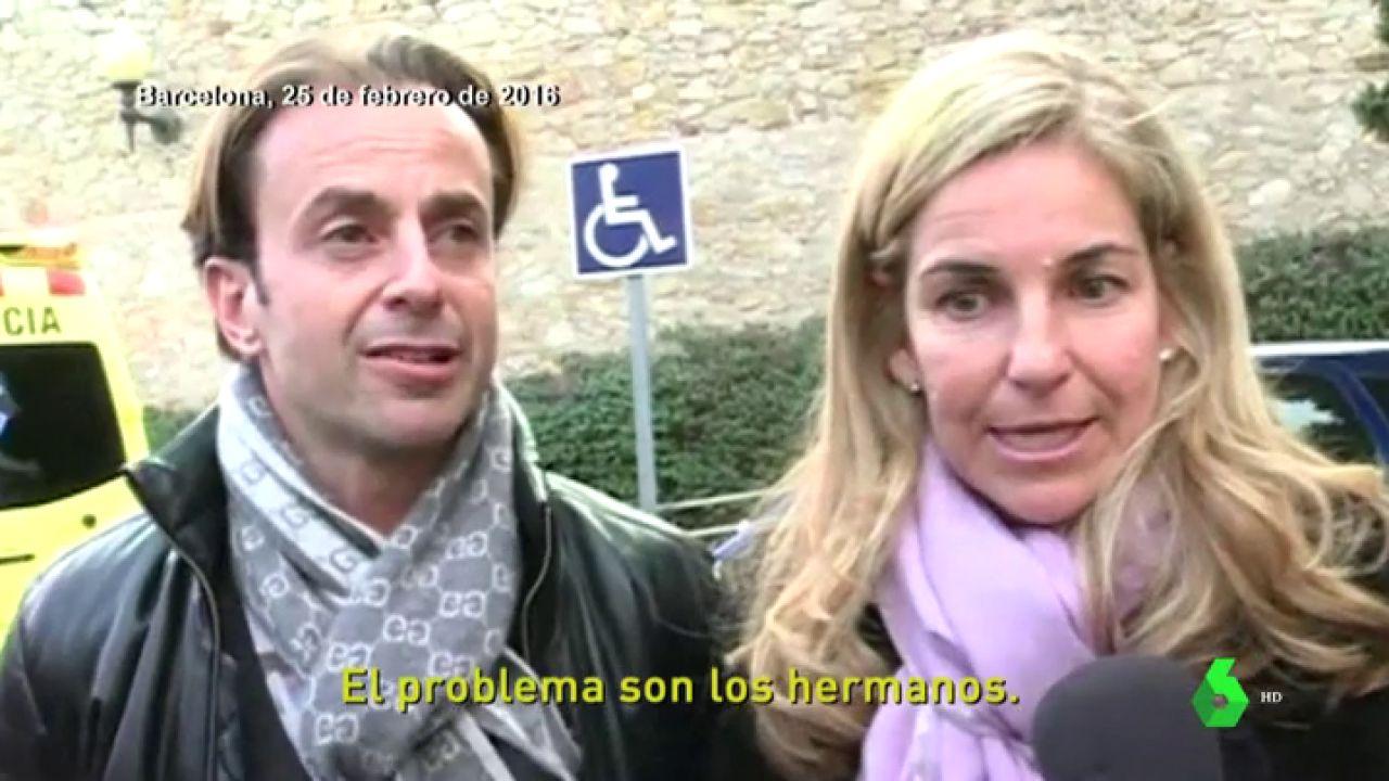 Así Guiaba Josep Santacana Las Declaraciones De Arantxa Sánchez Vicario El Día Del Funeral De Su Padre