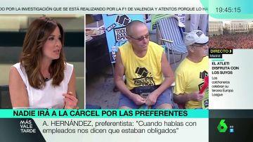 """Mamen Mendizábal relata su experiencia con el fraude de las preferentes: """"Falsificaron la firma de mi abuela"""""""