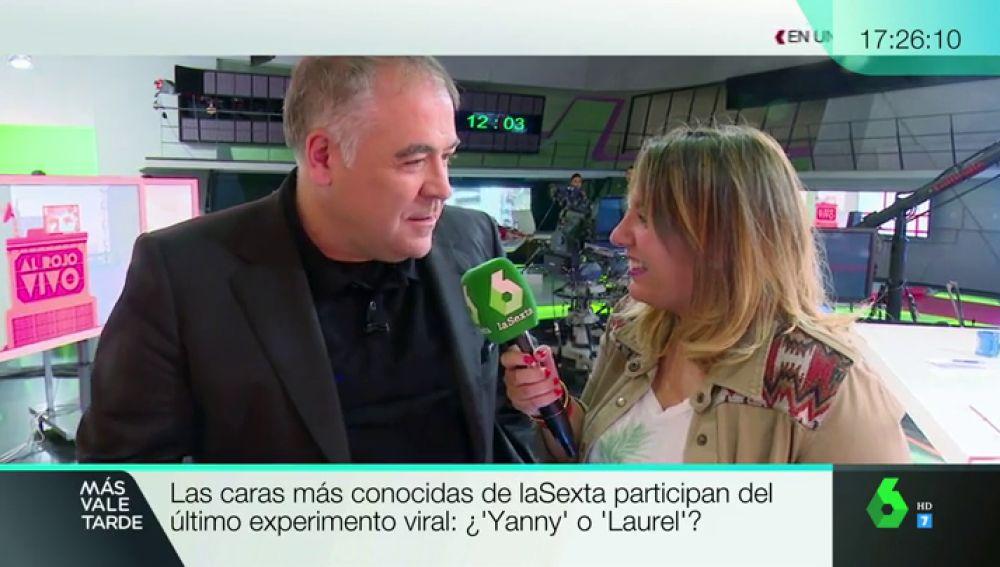 Antonio García Ferreras hablando sobre el audio viral