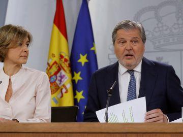 Méndez de Vigo e Isabel Tejerina