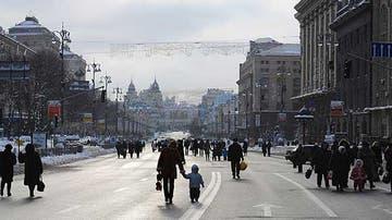 Calle Khreschatyk de Kiev