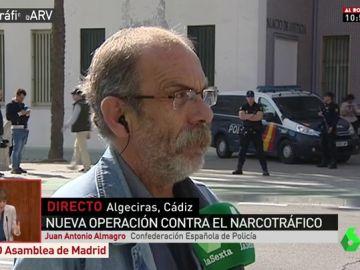 Juan Antonio Almagro, Confederación Española de Policía