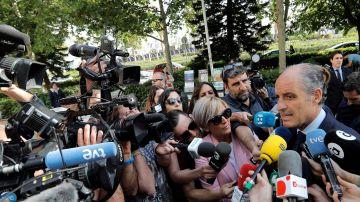 Francisco Camps ante los medios