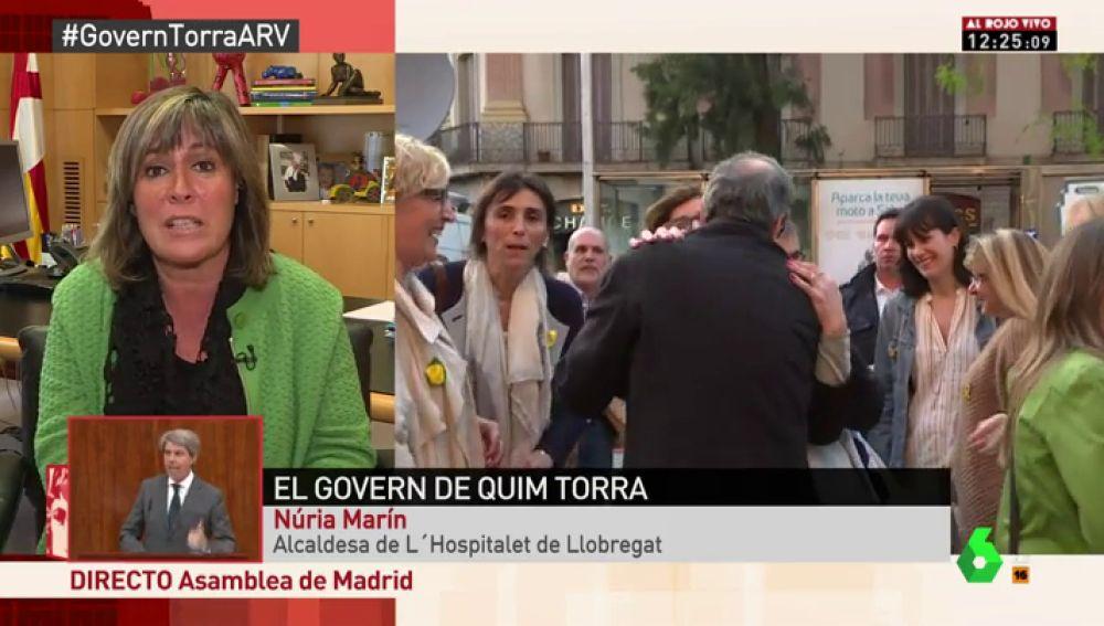 Nuria Marín, alcaldesa de Hospitalet