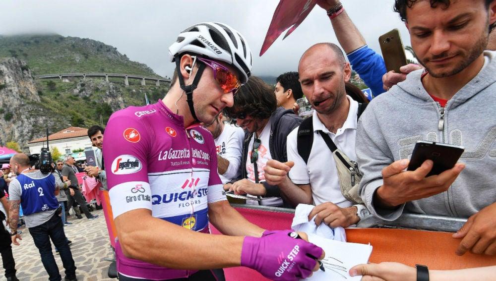 Viviani, en el Giro