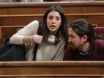 Pablo Iglesias e Irene Montero_643x397