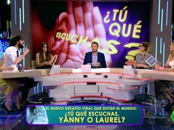 Los zapeadores se suman al reto viral de 'Laurel' o 'Yanny',¿qué escuchas tú?