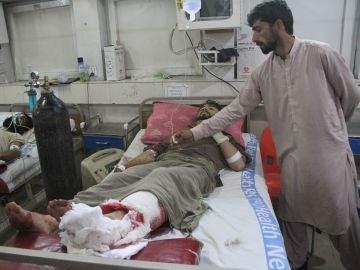 Uno de los heridos tras el atentado en un partido de críquet
