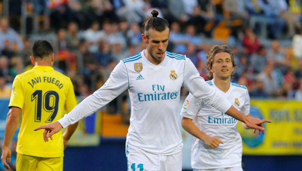 Bale celebrando un gol