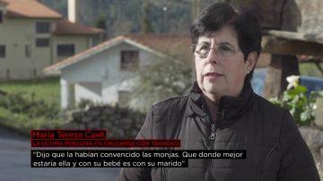 """María Teresa Cueli, la última persona que se cruzó con Trinidad: """"Cuando venía 'el portugués' ella tenía pánico e incluso se escondía"""""""