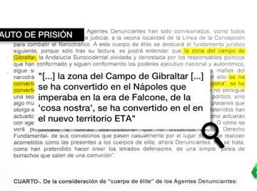 """La jueza que envió a prisión a los agresores guardias civiles: """"Gibraltar se ha convertido en el nuevo territorio ETA"""""""