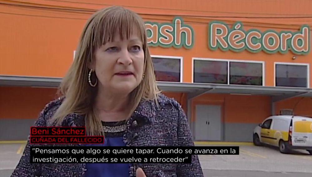 Beni Sánchez, cuñada del fallecido