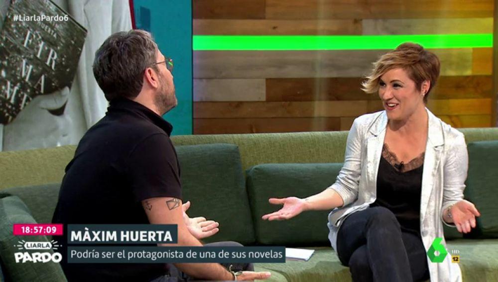 """El análisis de Màxim Huerta sobre la televisión: """"No te convierte en gilipollas, sólo ilumina al que ya lo es"""""""