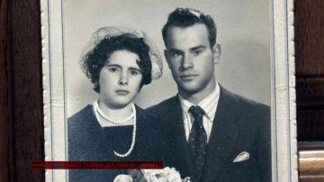Trini y su marido