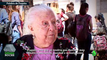 La famosa pensionista Paquita