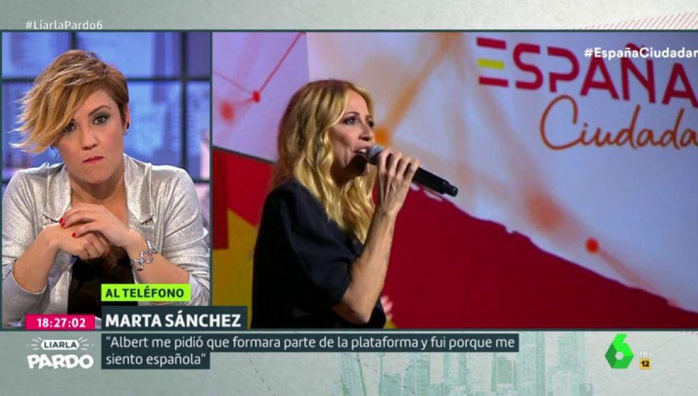 Cristina Pardo y Marta Sánchez