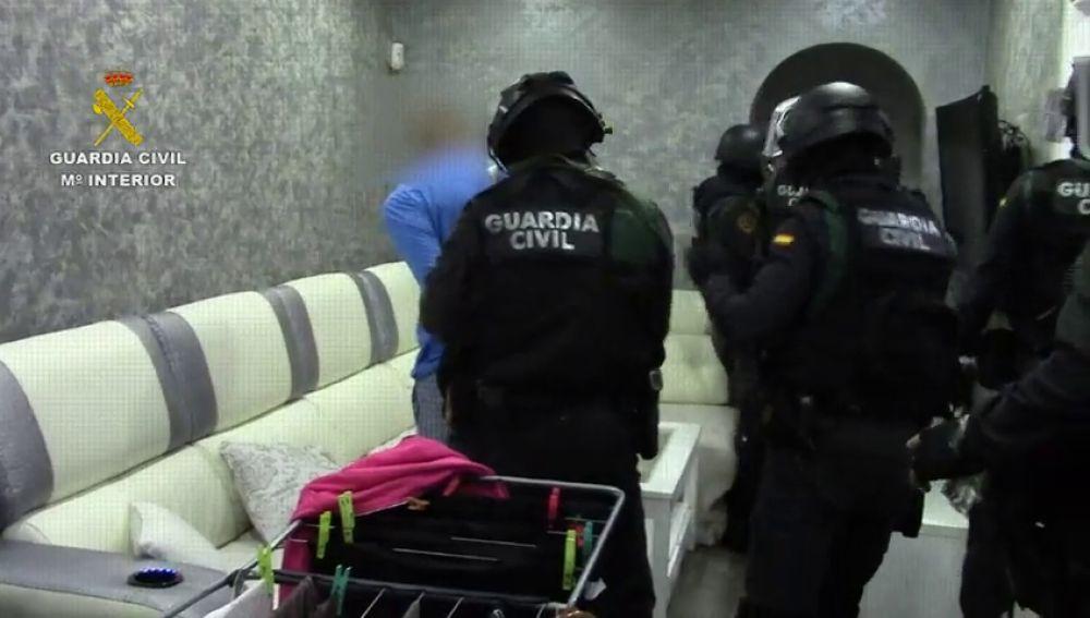 Imagen de una operación policial