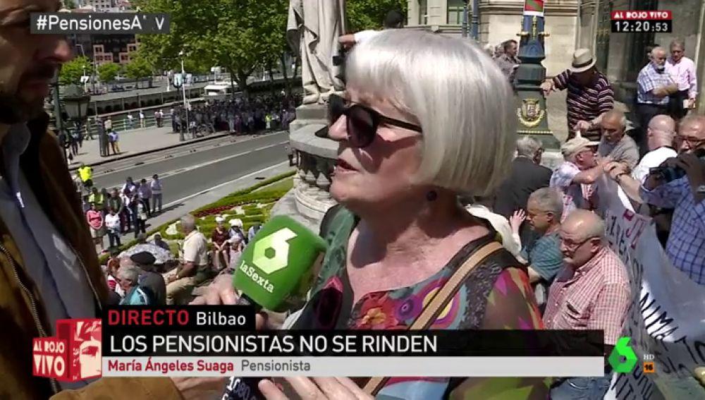 Suaga, pensionista