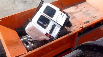 Trituradora de coches