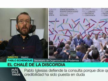 Pablo Echenique, en MVT