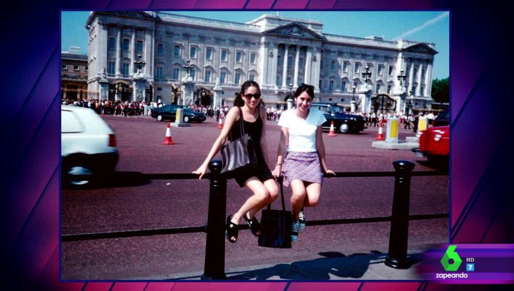 La foto premonitoria de Meghan Markle frente al Palacio de Buckingham cuando tenía 15 años