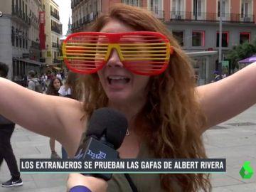 Una turista, en España