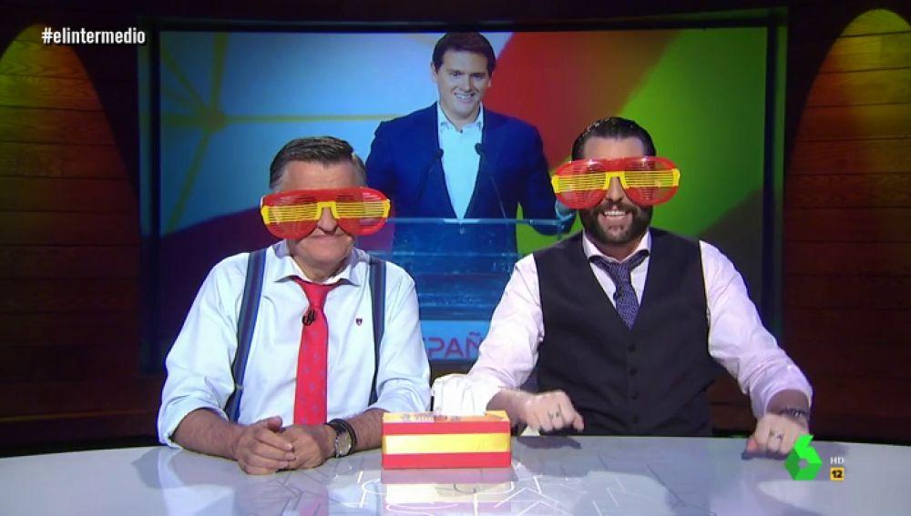 """Dani Mateo y Wyoming se ponen las gafas de Albert Rivera: """"Las feministas dejan de protestar y hacen algo más español: bailan sevillanas"""""""