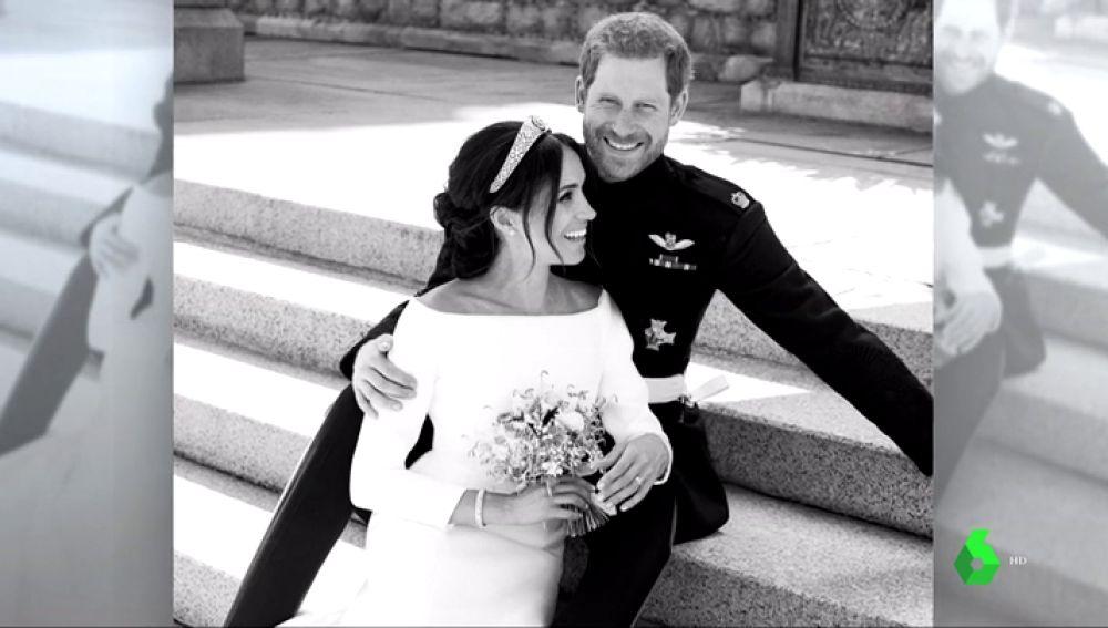 La Casa Real británica publica las fotos oficiales de la boda del príncipe Harry y Meghan Markle