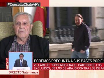 Carlos Jiménez Villarejo, en Al Rojo Vivo