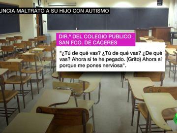Una madre denuncia malos tratos a su hija con autismo en un colegio público de Cáceres