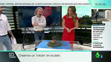Volcán en directo