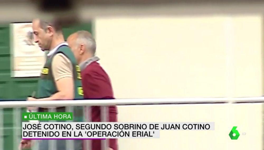 José Cotino, sobrino de Juan Cotino, también es detenido en la 'Operación Erial'