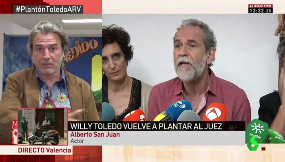 Alberto San Juan, en Al Rojo Vivo